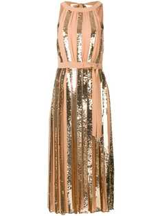 панельное платье с пайетками Twin-Set