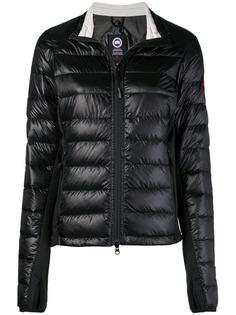 logo puffer jacket Canada Goose
