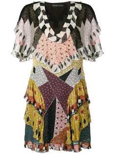 платье с геометрическим принтом Etro