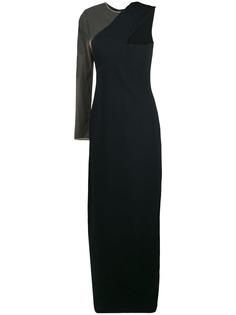 asymmetric maxi dress Alexander Wang