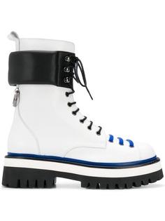 ботинки на шнуровке MSGM