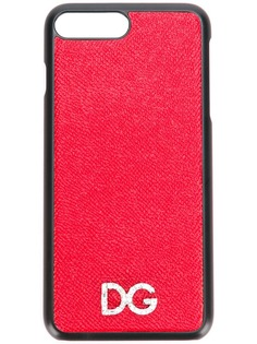 crystal logo iPhone 8 case Dolce & Gabbana