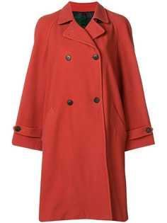 двубортное пальто оверсайз Jean Paul Gaultier Vintage