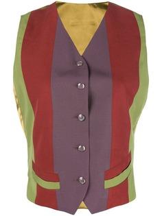 жилетка дизайна колор-блок Jean Paul Gaultier Vintage