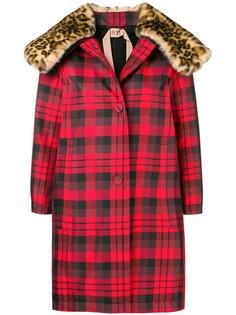 check pattern coat Nº21