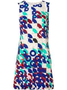 платье смещенного силуэта с геометрическим принтом M Missoni