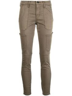 брюки скинни с карманами J Brand