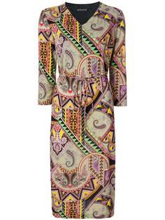 платье миди с принтом Etro