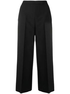укороченные брюки строгого кроя MSGM