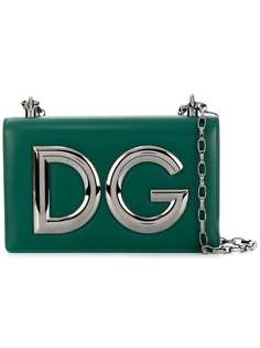 сумка через плечо с логотипом Dolce & Gabbana