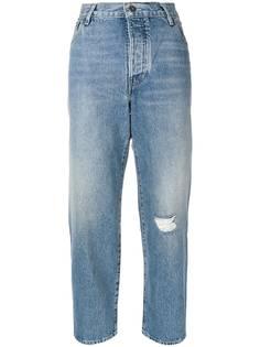 укороченные джинсы с завышенной талией Levi's