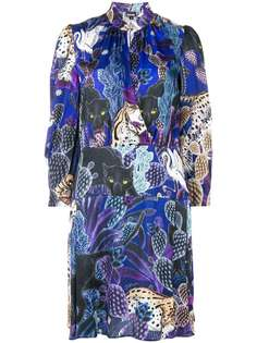 colllage-print dress Just Cavalli