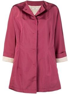 пальто оверсайз без воротника Prada Vintage