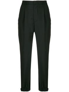 суженные брюки с завышенной талией Prada