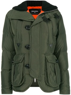 padded down jacket Dsquared2