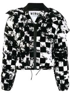 укороченная пуховая куртка Versus