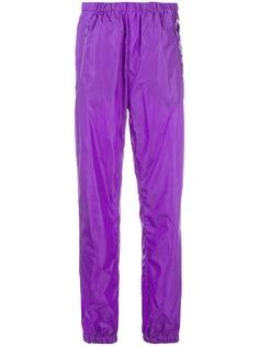 спортивные брюки с логотипом Prada