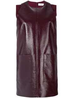 лакированное платье шифт Courrèges
