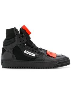 кроссовки на шнуровке с контрастным дизайном Off-White