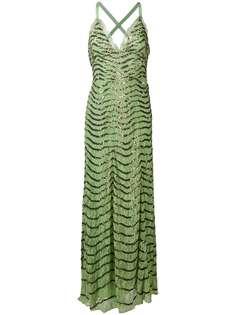 вечернее платье с декором Temperley London