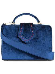 сумка-тоут жесткой формы с верхней ручкой Mehry Mu