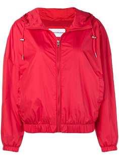 куртка с капюшоном и принтом логотипа Calvin Klein Jeans