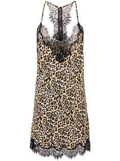 платье-сорочка с леопардовым принтом Gold Hawk