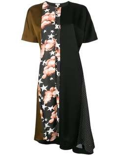 платье-шифт с принтом Loewe