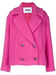 пальто 'Bouclé' MSGM