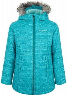 Куртка утепленная для девочек Columbia Crystal Caves, размер 150-157
