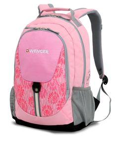 Рюкзак Wenger розовый/серый 31268415 32x14x45см 20л.