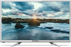 "LED телевизор SUPRA STV-LC24LT0011W ""R"", 24"", HD READY (720p), серебристый"