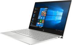 """Ноутбук HP Envy 13-ah0006ur, 13.3"""", Intel Core i7 8550U 1.8ГГц, 8Гб, 256Гб SSD, Intel UHD Graphics 620, Windows 10, 4GS55EA, серебристый"""