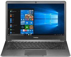 "Ноутбук PRESTIGIO SmartBook 141S, 14.1"", Intel Celeron N3350 1.1ГГц, 4Гб, 32Гб eMMC, Intel HD Graphics 500, Windows 10 Professional, PSB141S01CFP_DG_CIS, темно-серый"