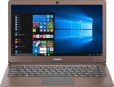 "Ноутбук PRESTIGIO SmartBook 133S, 13.3"", Intel Celeron N3350 1.1ГГц, 4Гб, 32Гб eMMC, Intel HD Graphics 500, Windows 10 Home, PSB133S01CFH_DB_CIS, темно-коричневый"