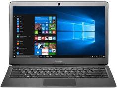 "Ноутбук PRESTIGIO SmartBook 133S, 13.3"", Intel Celeron N3350 1.1ГГц, 3Гб, 32Гб eMMC, Intel HD Graphics 500, Windows 10 Home, PSB133S01ZFH_BK_CIS, черный"