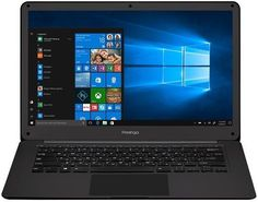 "Ноутбук PRESTIGIO SmartBook 141C2, 14.1"", Intel Celeron N3350 1.1ГГц, 3Гб, 32Гб eMMC, Intel HD Graphics 500, Windows 10 Home, PSB141C02ZFH_BK_CIS, серый"