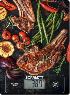 Весы кухонные SCARLETT SC-KS57P39, рисунок