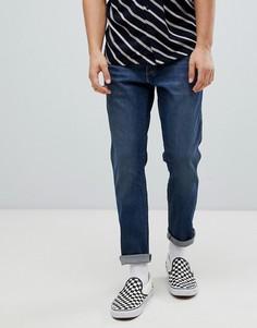 Синие зауженные джинсы Wrangler Slider - Синий