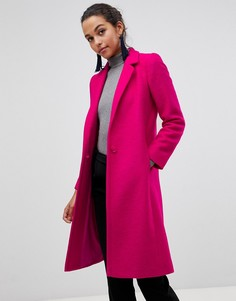 Пальто с добавлением шерсти Helene Berman - Розовый