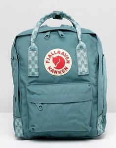 Зеленый рюкзак с контрастными ремешками Fjallraven - Зеленый