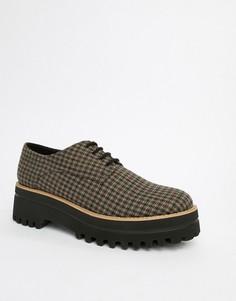 Массивные туфли на шнуровке Park Lane - Мульти