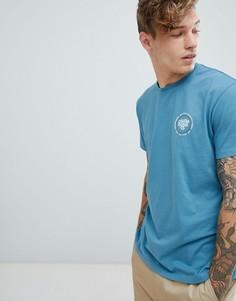 Синяя футболка Billabong Cruiser - Синий