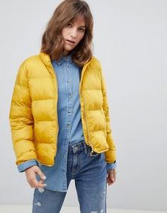Дутая куртка Herschel - Желтый