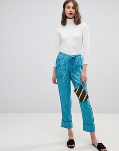 Жаккардовые брюки галифе Vero Moda - Черный