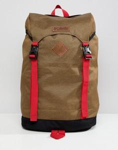 Темно-коричневый классический рюкзак Columbia 25 л - Рыжий
