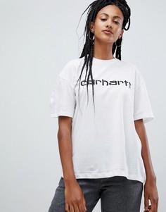 Свободная футболка с логотипом Carhartt WIP - Белый