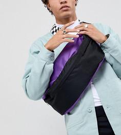 Черная фестивальная сумка-кошелек на пояс Reclaimed Vintage Inspired - Черный