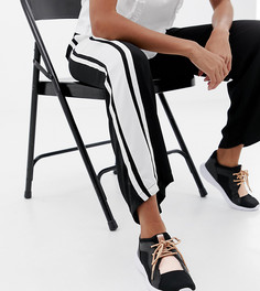 Кроссовки со шнуровкой Miss KG - Черный