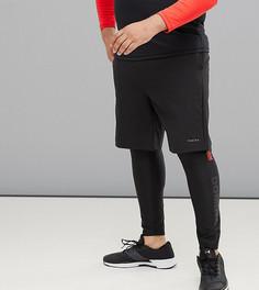 Женские спортивные шорты Tribeka Plus Performance - Черный